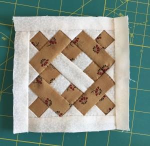 tutorial quilt Dear Jane D-9