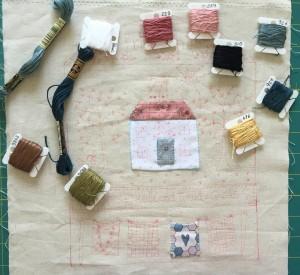 quilt shoppe de Lynette Anderson cojín patchwork