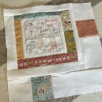 Bloque 12 Quilt The story of my day Anni Downs