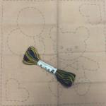 Labores para niños Sashiko bordado japonés