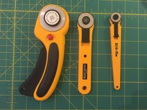 cortar tela patchwork cutter