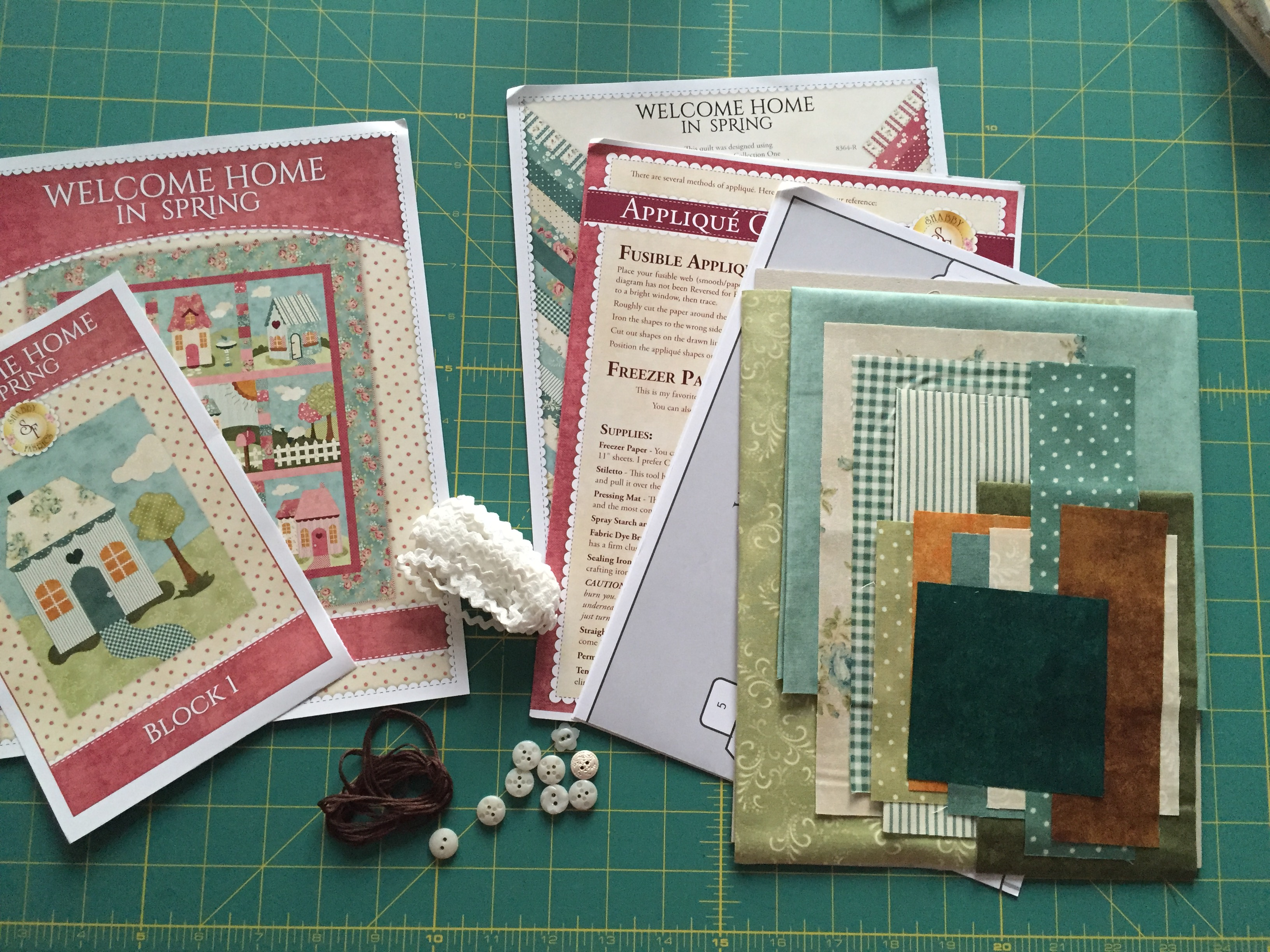 Shabby Fabrics patchwork casas