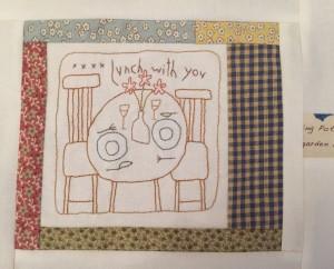Quilt patchwork Anni Downs
