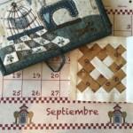 Proyectos septiembre en patchwork