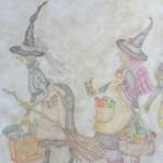 Patchwork, bordado y pintura en tela