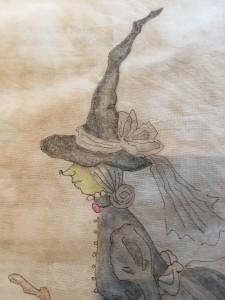 pintura tela plastidecor quilt