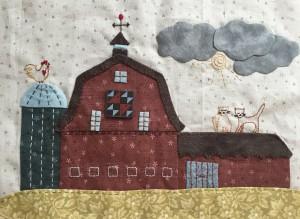 quilt Anderson´s Farm de Lynette Anderson BOM