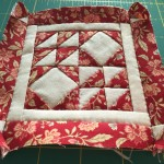 Quilt Dear Jane log cabin