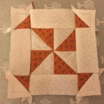 Quilt Dear Jane bloque E-3