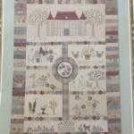 Quilt Chateau Hexagon de Lynette Anderson