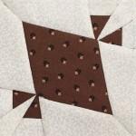 Bloque patchwork quilt Dear Jane E-4