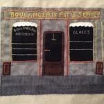 La panadería en patchwork y bordado 3