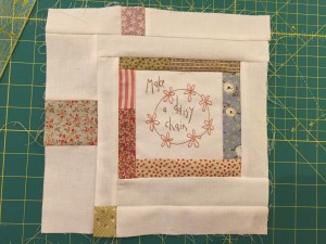 quilt bloque The story of my Day