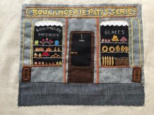 panadería patchwork y bordado Martine Apaolaza, mi versión