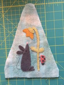 aplicaciones lana patchwork