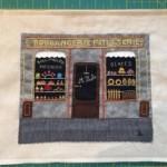 Enmarcar labor patchwork y bordado