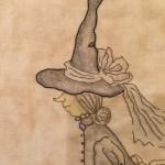 bruja bordada