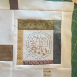 Bloque 5 quilt The Story of my Day
