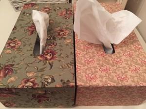 cajas pañuelo cartonaje