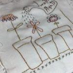 Quilt Anni Downs SAL bordado y patchwork