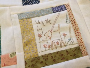 quilt the story of my Day Anni Downs