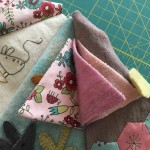 guarda agujas en patchwork