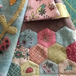 hexágonos en patchwork