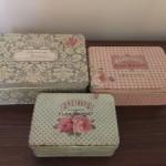 Accesorios de patchwork, las cajas