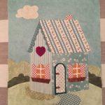 BOM Shabby Fabrics casa en patchwork