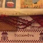 Bienvenido diciembre en patchwork