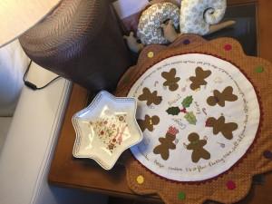 decorar casa navidad patchwork