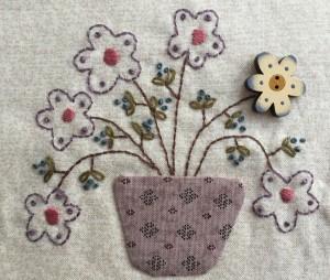 aplicaciones y bordado patchwork