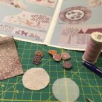 Cómo hacer un yoyo en patchwork con tela