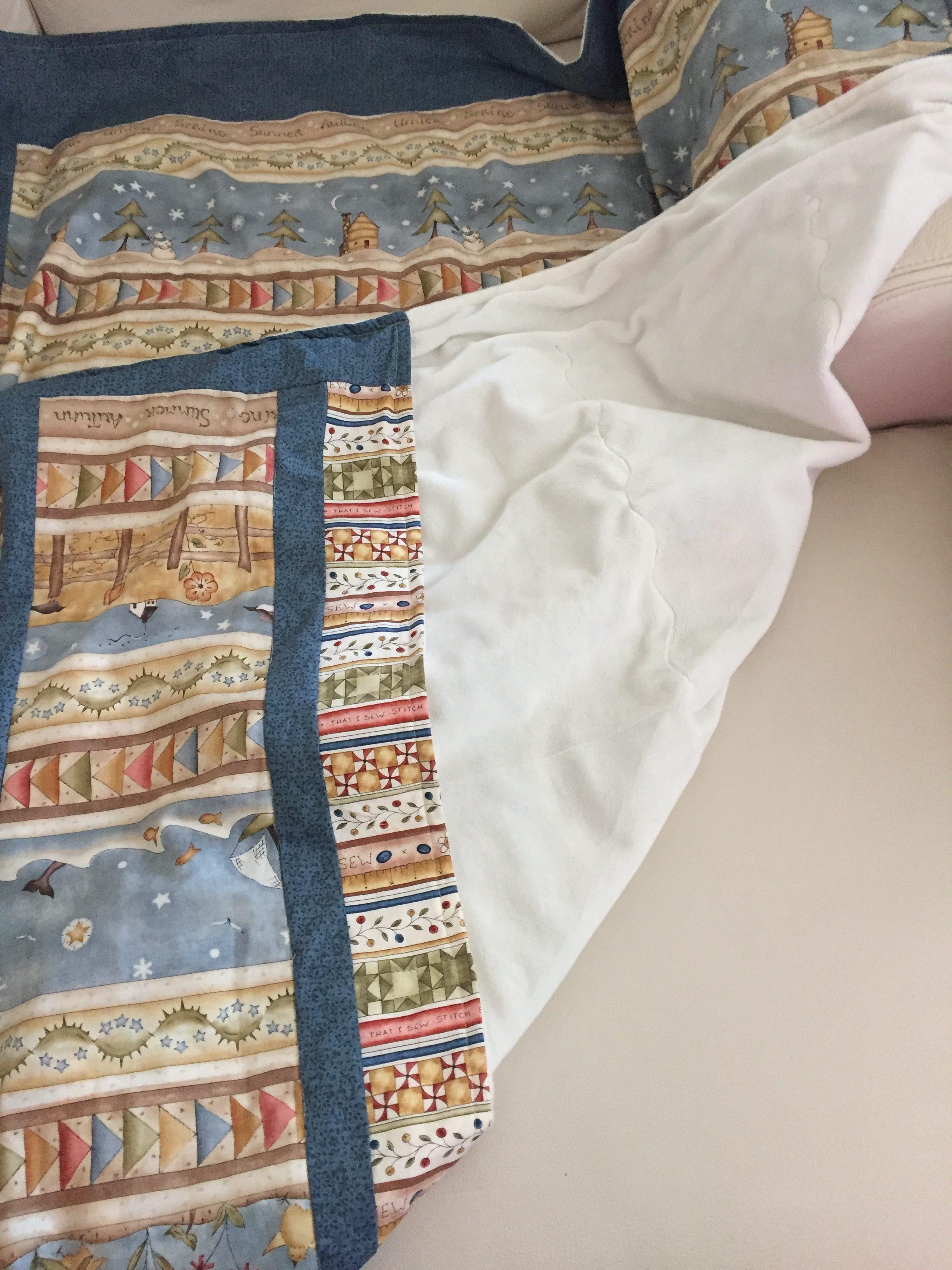 Tutorial gratis DIY colcha para sofá - LA VIDA EN PATCHWORK