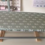 Herramientas de patchwork, mi tabla de planchar