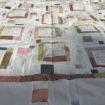 Quilt The Story of my Day de Anni Downs tela trasera