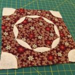 Quilt Dear Jane bloque patchwork E-11