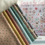 Nuevo SAL Gossip in the Garden quilt