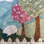 Patchwork Welcome Home Spring Quilt