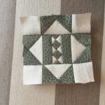 Quilt Dear Jane bloque patchwork E12