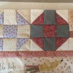 SAL Quilt Gossip in the Garden bloque 1
