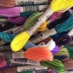 Hilos de lana para bordar a mano crewel