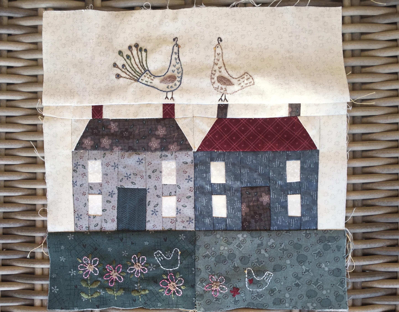Casas de patchwork t cnica paper piecing la vida en - Casas de patchwork ...