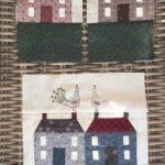 Casas de patchwork técnica paper piecing