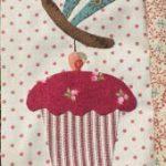 Bloque patchwork central quilt