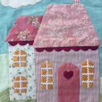 Último bloque del quilt Welcome Home in Spring
