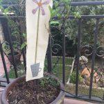 Y si en una taza plantamos una flor de tela