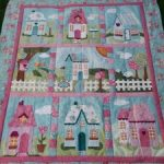 Quilt Welcome Home in Spring