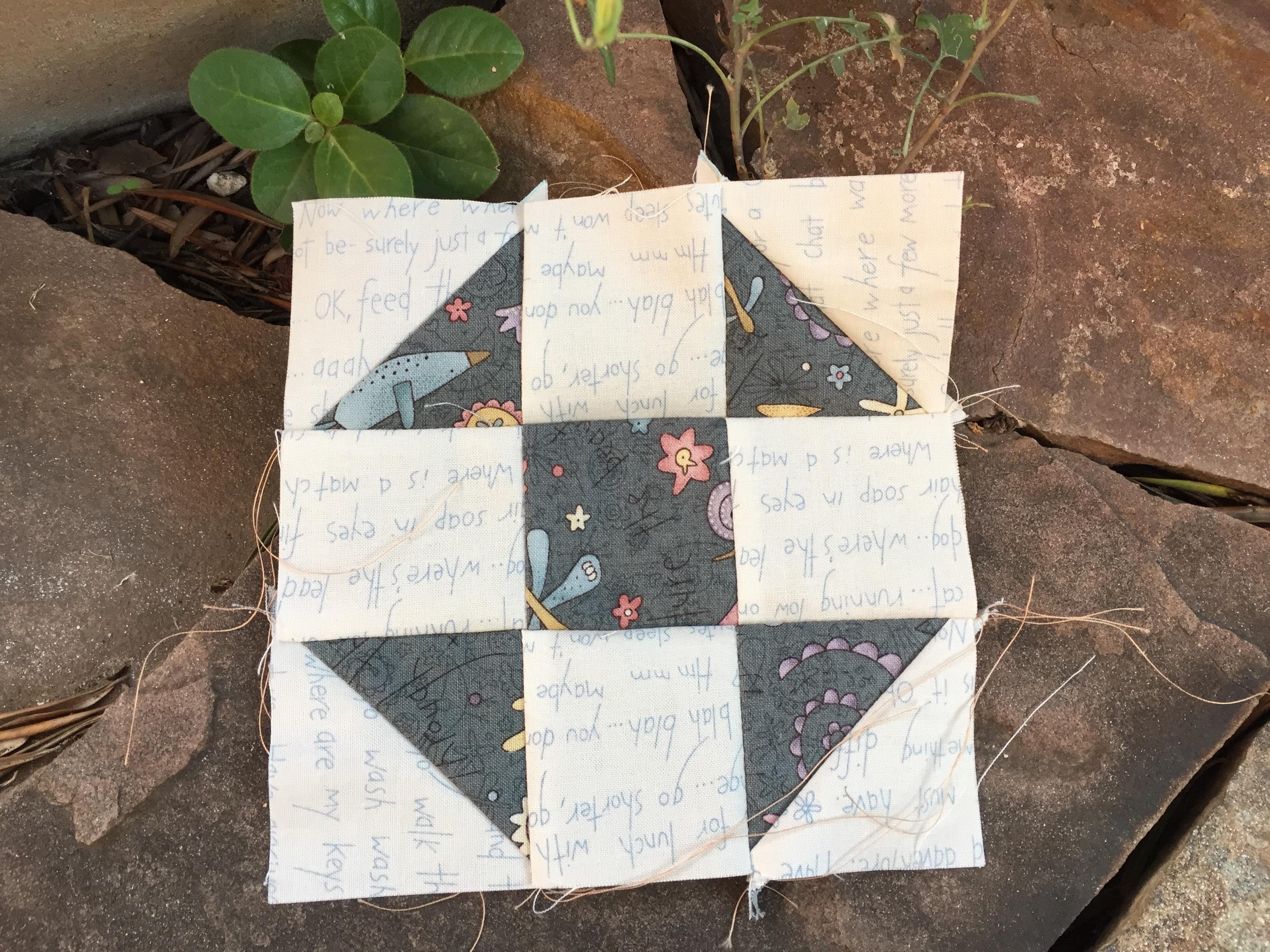 Bloques de patchwork a máquina de coser - LA VIDA EN PATCHWORK