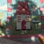 Colcha Welcome Home in Spring Quilt acolchado